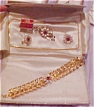 Click to view larger image of Bugbee & Niles earring/pin/necklace/brac (Image1)