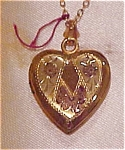 10k gold filled heart locket