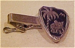 Elephant with palm tree tie bar