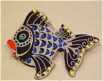 Plastic fish pin