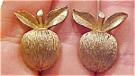 Sarah Coventry Apple earrings