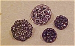 4 Victorian buttons