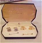 Click to view larger image of Cufflink and tie bar set by Stacy (Image1)