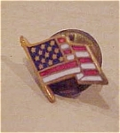 Click here to enlarge image and see more about item x2041: American flag tie tack