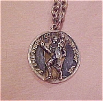 Click here to enlarge image and see more about item x2390: St. Christopher medallion