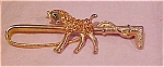 Horse pin with rhinestones
