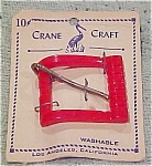 Crane Craft plastic buckle