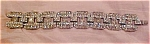 Click to view larger image of Art deco rhinestone bracelet (Image1)