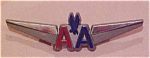 Click here to enlarge image and see more about item x2827: American Airlines plastic wings