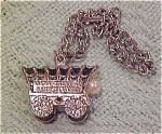 Click here to enlarge image and see more about item x2929: charm bracelet with wagon train