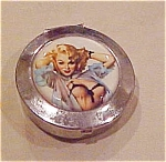Click here to enlarge image and see more about item x2961: Pin-up girl pillbox