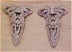Pair of bow dress clips