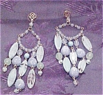 Contemporary Chandelier style earrings