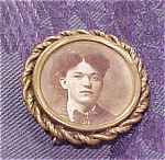 Victorian photo pin