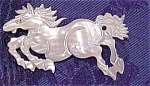 Mother of Pearl horse pin