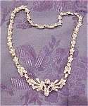 1930s necklace with rhinestones
