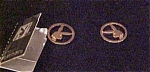 Click here to enlarge image and see more about item x3589: Playboy earrings in original box
