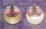 Boucher retro earrings