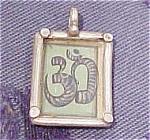 Snake design pendant