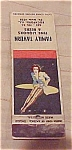 Click here to enlarge image and see more about item x3980: pin up matchbook cover