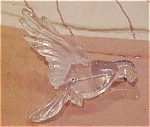 Lucite Eagle brooch