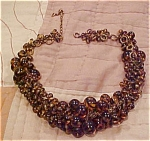Cluster style necklace