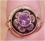 Click here to enlarge image and see more about item x4096: Art Nouveau ring