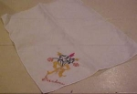 Grandma embroidered handkerchief