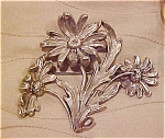 William b. Kerr art nouveau brooch