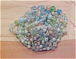 5 strand glass bead bracelet