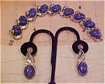 Trifari bracelet and earring set