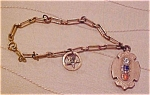 Click to view larger image of Gold filled bracelet with fobs (Image1)