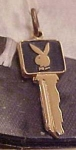 Click here to enlarge image and see more about item x526: Playboy Key charm
