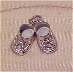 Sterling shoe charm