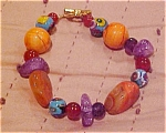 Contemporary beaded bracelet