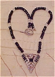 Click to view larger image of Art deco pendant necklace (Image1)