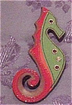 Prada Sea Horse brooch