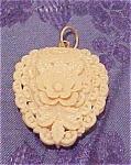 Celluloid pendant