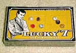 Lucky Seven tie tack assortment in box