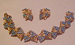 Marbaux bracelet and earring set