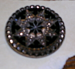 Click here to enlarge image and see more about item x5717: Victorian glass button