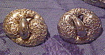 Silvertone earrings