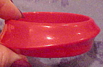 Red plastic bangle