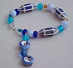 Contmporary beaded bracelet