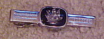 Anson tie bar with ship design