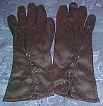 Black gloves made by Kayser