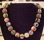 Sobral round bead necklace