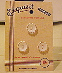 Exquisite Buttons on original card