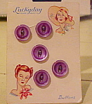 Lucky Day buttons on original card