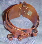 Click to view larger image of Copper Moderne hinged bangle (Image3)